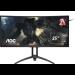 "AOC Gaming AG352UCG6 pantalla para PC 88,9 cm (35"") 3440 x 1440 Pixeles UltraWide Quad HD LED Curva Mate Negro, Rojo"