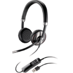 Plantronics C720 USB Binaural Head-band Black headset