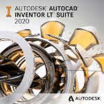Autodesk AutoCAD Inventor LT Suite 2020 1 licencia(s) Electronic License Delivery (ELD) Plurilingüe