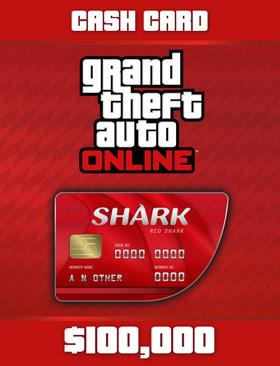 Nexway Grand Theft Auto Online: Red Shark Cash Card