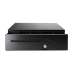 HP Cash Drawer Black cash & ticket box