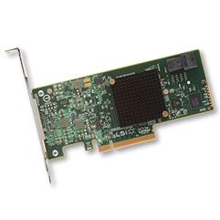 Broadcom MegaRAID SAS 9341-4i RAID controller PCI Express x8 3.0 12 Gbit/s