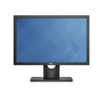 "DELL E Series E2016H 19.5"" HD TN Matt Black computer monitor"