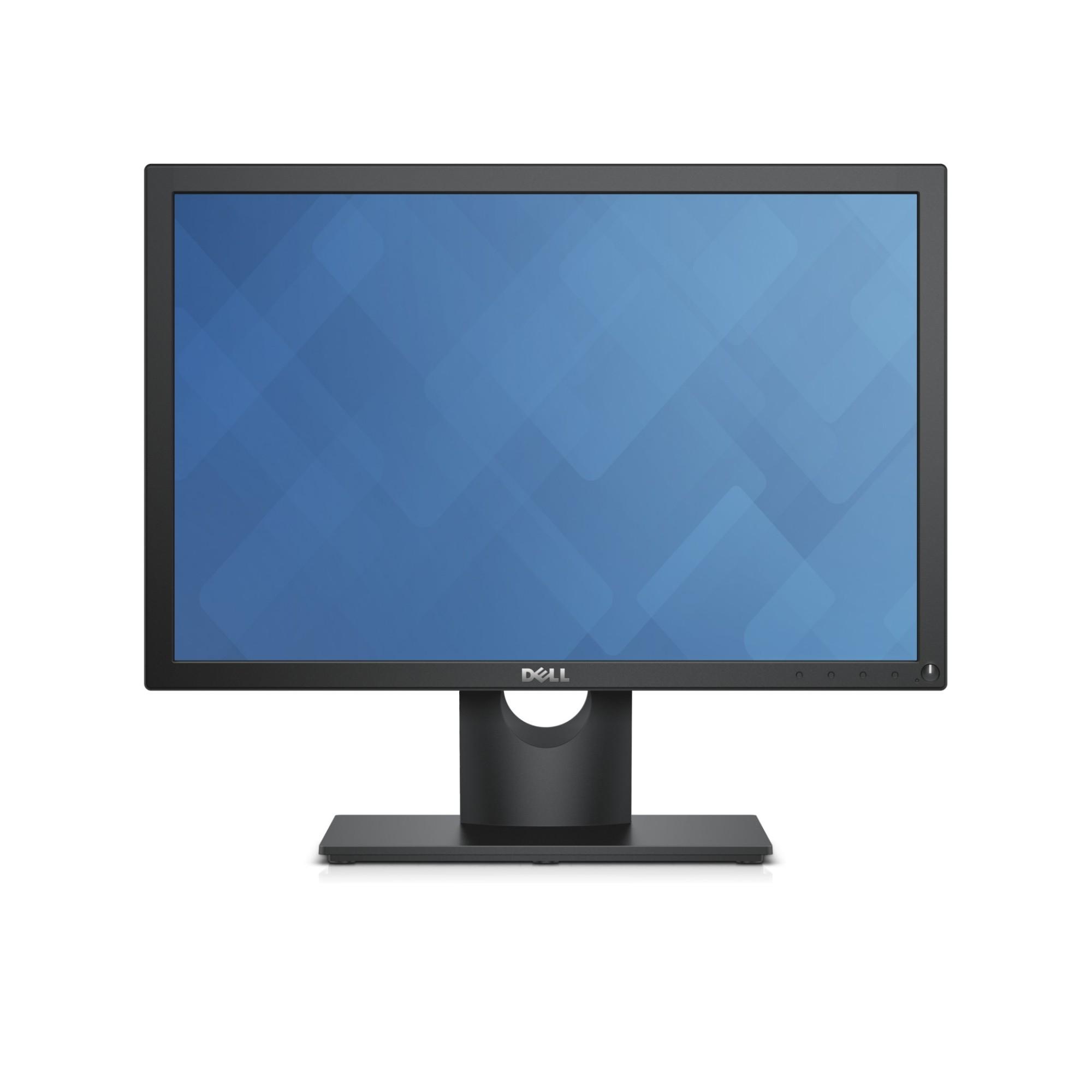 "DELL E Series E2016H LED display 49.5 cm (19.5"") HD Matt Black"