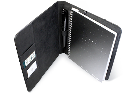 Livescribe Smartpen Portfolio personal organizer Microfiber Black