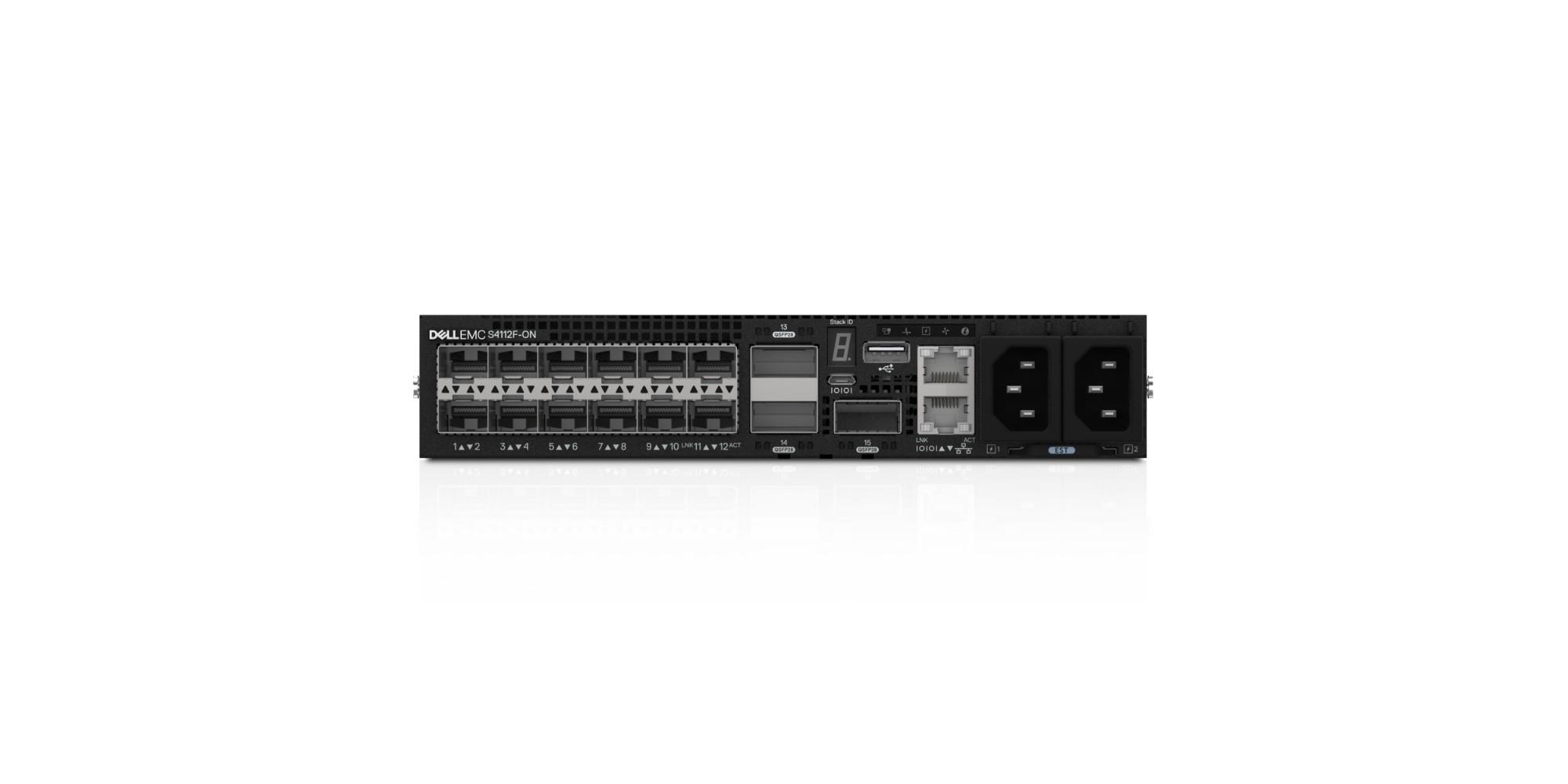 DELL S-Series S4112 Managed L2/L3 1U Black