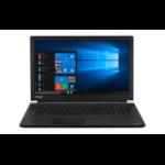 "Toshiba Satellite Pro R50-E-18V Black Notebook 39.6 cm (15.6"") 1366 x 768 pixels 7th gen Intel® Core™ i3 8 GB DDR4-SDRAM 128 GB SSD Windows 10"