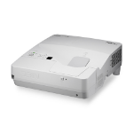 NEC UM351W 3500ANSI lumens LCD WXGA (1280x800) Desktop White 60003842