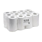 Value Maxima Mini Centre Feed Roll 1Ply White (Pack 12)