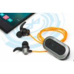 Technaxx BT-X32 mobile headset Binaural In-ear Black,Orange,Silver Wireless