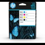 HP 6ZC74AE (912) Ink cartridge multi pack, 8,3ml + 3x2,9ml, Pack qty 4
