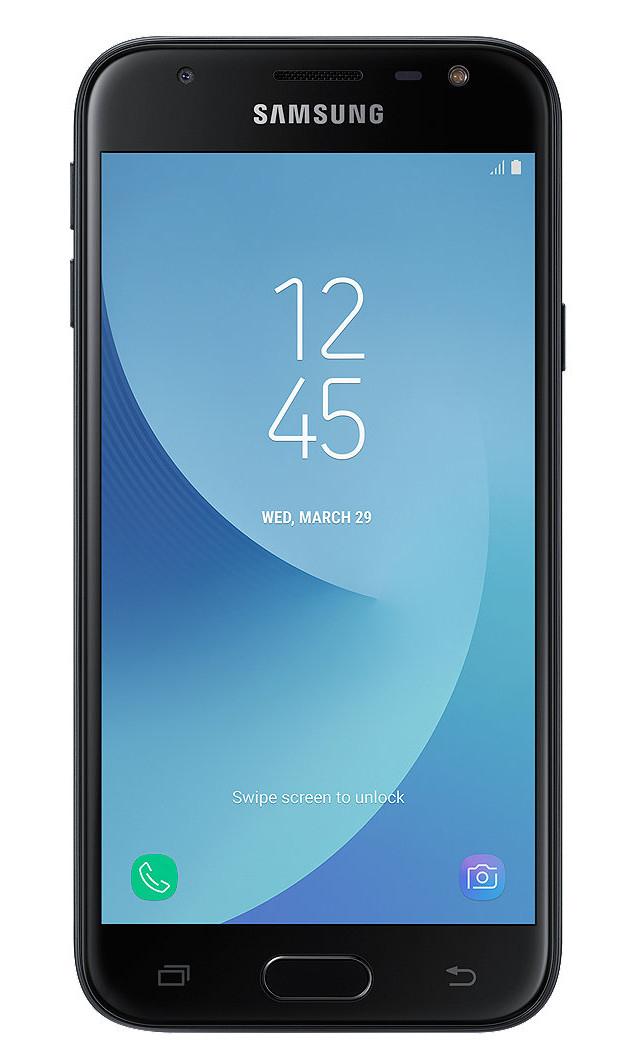 "Samsung Galaxy J3 (2017) SM-J330F 5"" 4G 2GB 16GB 2400mAh Black SM-J330FZKNBTU"
