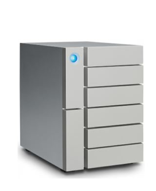 LaCie 6big Thunderbolt 3 disk array 24 TB Desktop Silver