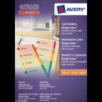 Avery 1735501 Cardboard Multicolour divider