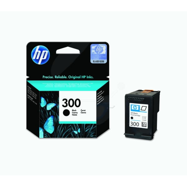 HP CC640EE#301 (300) Printhead black, 200 pages, 4ml