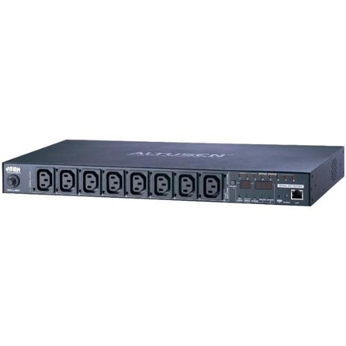 Aten PE6108G power distribution unit (PDU) 8 AC outlet(s) 1U Black