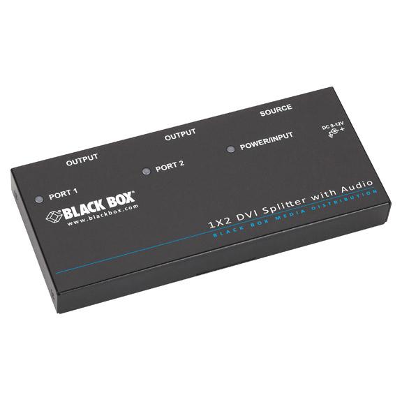 Black Box AVSP-DVI1X2 DVI video splitter