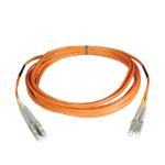 Tripp Lite Duplex Multimode 50/125 Fiber Patch Cable (LC/LC), 10M