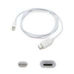 "AddOn Networks USB 3.1 (C) - Lightning, 1m 39.4"" (1 m) White"