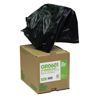 GREENSACK GREEN SACK CUBES MEDIUM BLACK BOX PK75