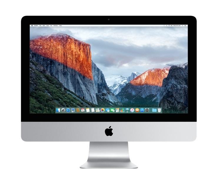 "Apple iMac 1.6GHz 21.5"" 1920 x 1080pixels Silver"