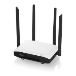 Zyxel NBG6615 wireless router Dual-band (2.4 GHz / 5 GHz) Gigabit Ethernet Black,White