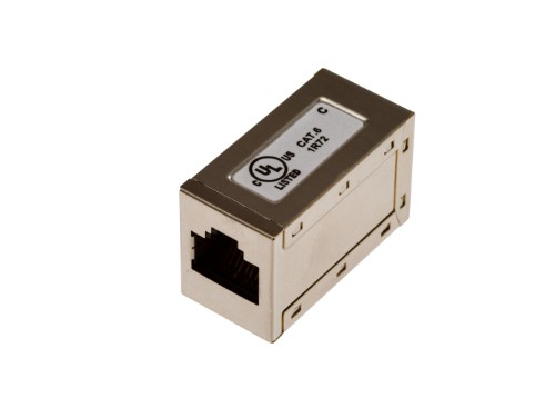 Axis Coupler RJ-45 Brushed steel