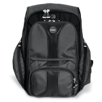 "Kensington Contour Backpack 17"" Backpack Black"