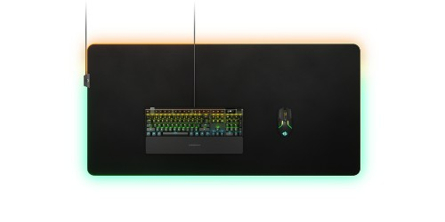 Steelseries QcK Prism Cloth Gaming mouse pad Black