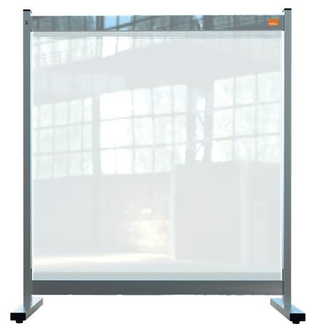 Nobo 1915547 magnetic board Grey, Transparent