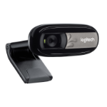 Logitech C170 5MP 640 x 480pixels USB 2.0 Black,Silver webcam