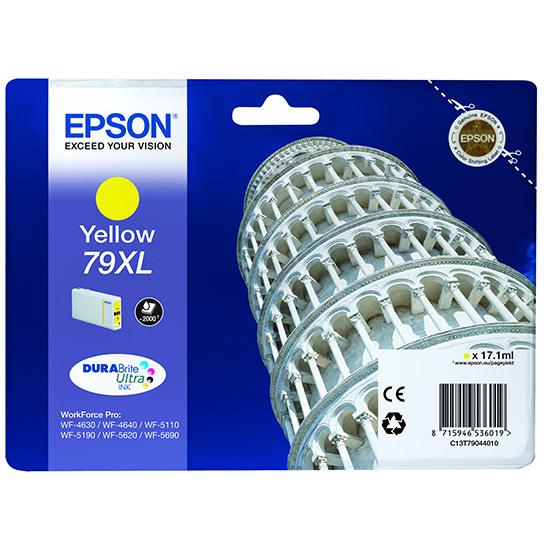 Epson Tower of Pisa Cartucho 79XL amarillo