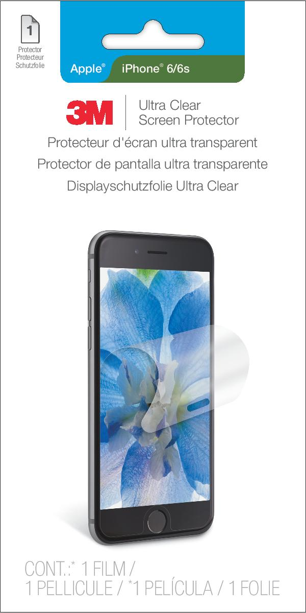 3M Ultra Clear Screen Protector for Apple iPhone 6