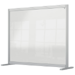 Nobo 1915491 magnetic board Gray, Transparent