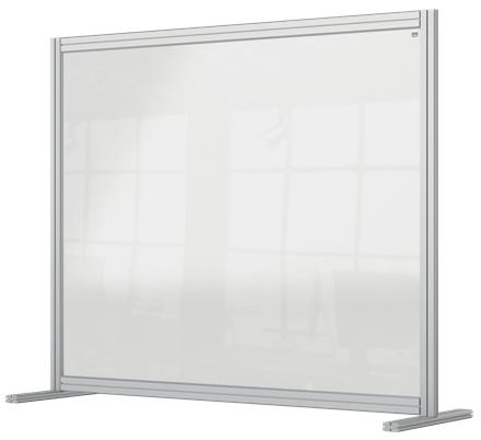 Nobo 1915491 magnetic board Gray, Transparent