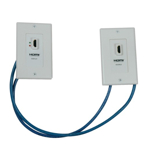 Tripp Lite HDMI over Dual Cat5/Cat6 Extender Wall Plate Kit with Transmitter and Receiver