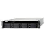QNAP TS-853BU-RP Ethernet LAN Rack (2U) Zwart NAS