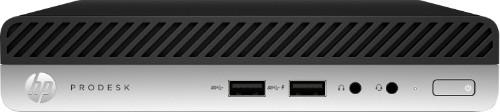 HP ProDesk 400 G4 8th gen Intel® Core™ i3 i3-8100T 4 GB DDR4-SDRAM 128 GB SSD Black,Silver Mini PC