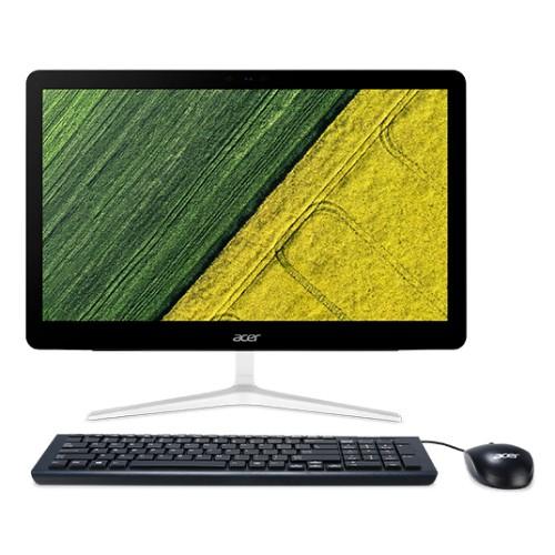 "Acer Aspire Z24-880 60.5 cm (23.8"") 1920 x 1080 pixels Touchscreen 3.4 GHz 7th gen Intel® Core™ i3 i3-7100T Black,Silver All-in-One PC"