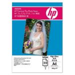 HP Premium Plus High-gloss Photo Paper 280 g/m²-10 x 15 cm plus tab/25 sht 2-pack photo paper