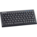KeySonic Super Mini / Classic Stye USB QWERTZ Black keyboard