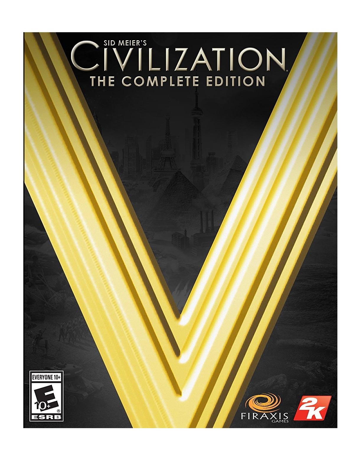 Aspyr Media Sid Meier's Civilization V: The complete ED, Complete Mac DEU, ENG Videospiel
