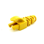 Cablenet RJ45 Snagless Strain Relief Flush Boot Yellow 6.5mm