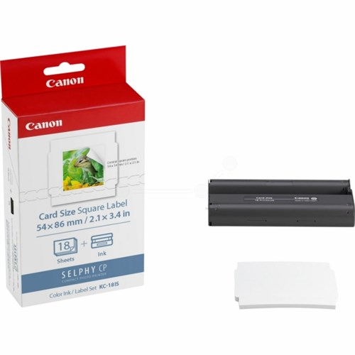 Canon 7429B001 (KC-18 IS) Photo cartridge, Pack qty 18