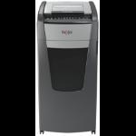 Rexel Optimum AutoFeed+ 750X paper shredder Cross shredding 55 dB 23 cm Black, Silver