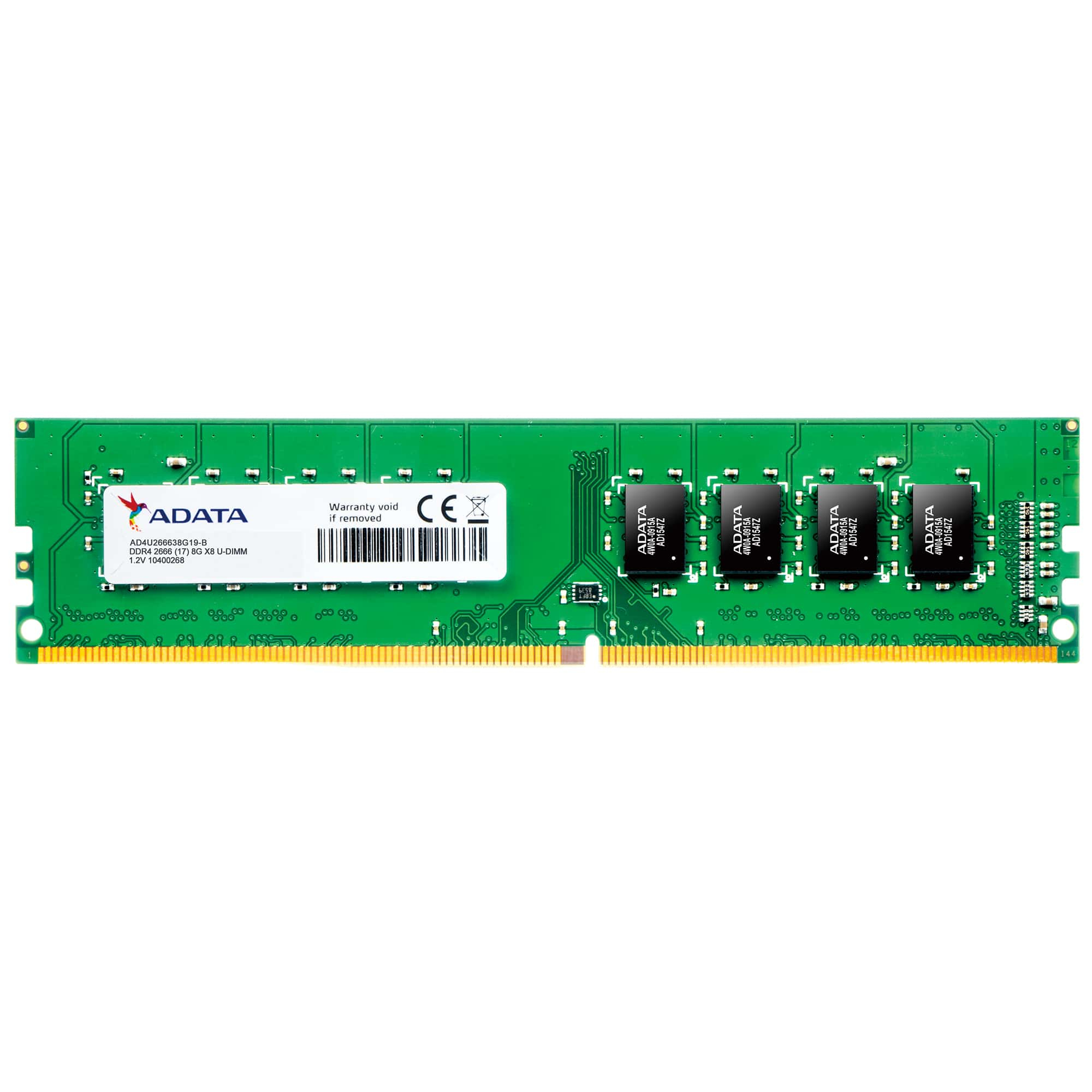 Premier Series - Ddr4 - 8 GB - DIMM 288-pin - 2666 MHz / Pc4-21300 - Cl19 - 1.2 V - Unbuffered