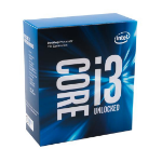 Intel Core ® ™ i3-7350K Processor (4M Cache, 4.20 GHz) 4.2GHz 4MB Smart Cache Box processor
