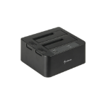 Sharkoon SATA QuickPort Duo USB3.0 USB 3.0 (3.1 Gen 1) Type-B Black