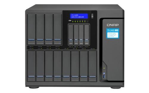 QNAP TS-1685 Ethernet LAN Desktop Black NAS