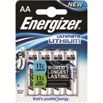 Energizer ER E2 LITHIUM BATTERIES AA PK4